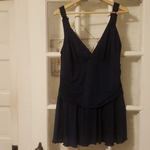 Catalina Navy Swimdress